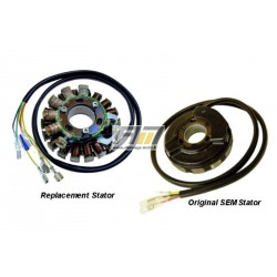 Stator avec éclairage ST5410L pour Enduro Husaberg modèle FE 500e