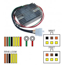 Régulateur - Rectifieur RR45 pour Routière BMW modèle 1000 R 100 R Classic